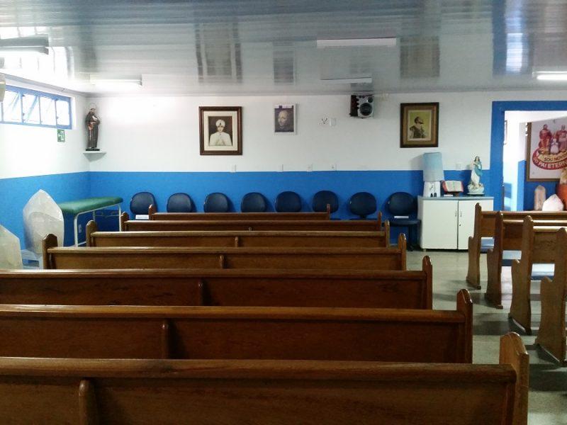 Sala błogosławieństw po wizycie u Jana