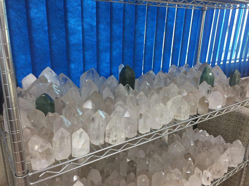 Kryształy w sklepie Casy 1